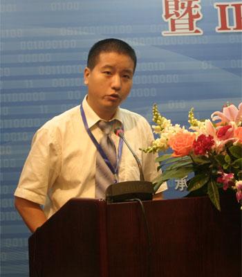 图文:华为网络marketing解决方案部副部长 杜伟图片