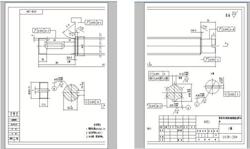 caxa二维cad教程:填充大幅面图纸cad卡很打印图纸图片