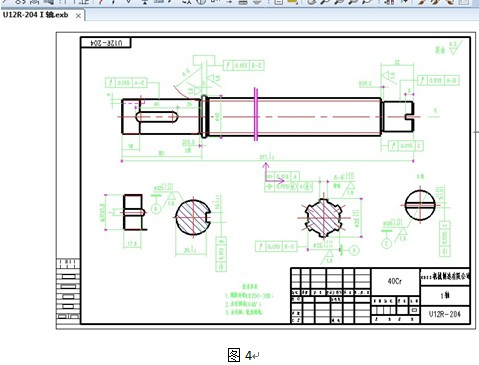 CAXA二维CAD教程:巧用图幅设置用cad效果图画图片