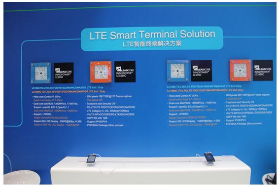 聯芯科技LC1860移動終端芯片解決方案