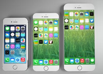 苹果或将发布两款无边框设计大屏iphone
