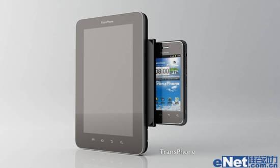 图 1 TransPhone 是手机跟平板的结合