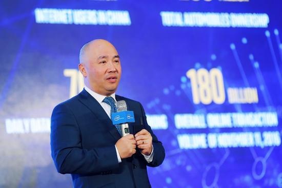 英特尔公司全球副总裁兼中国区总裁杨旭