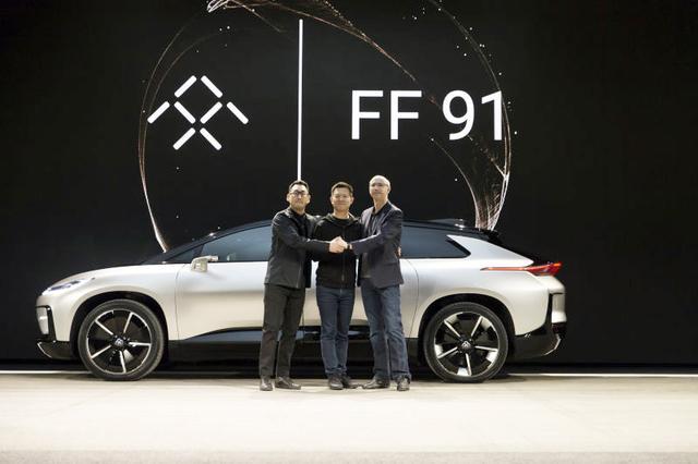 造车梦实现了 乐视首款量产车型FF91发布高清图片